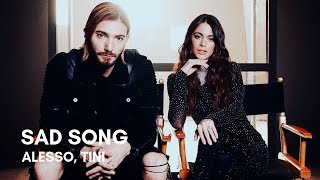 Alesso   Sad Song (feat. TINI) (Lyrics)