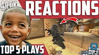 Apex Legends - Funny Reactions to Epic Plays - Top 5 Reactions / Episode 7