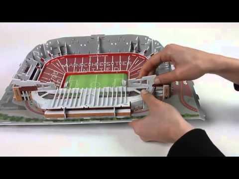 3D-Puzzle Nanostad: Old Trafford