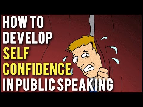 How To Develop Self Confidence in Public Speaking - Tips To Give A Better Speech