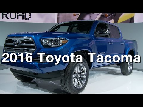 2016 Toyota Tacoma – Redline: First Look – 2015 Detroit Auto Show