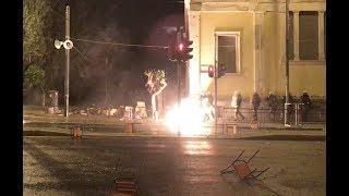 Беспорядки в Афинах, в годовщину восстания в Политехническом университете