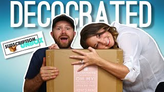 Decocrated - The Home Decor Subscription Box | Unboxing