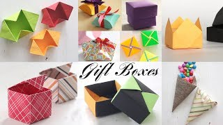 Top 10 Gift Box | Paper Boxes | DIY Activities