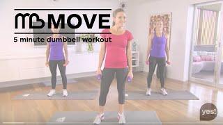 Michelle Bridges - 5 Minute Dumbbell Workout by Michelle Bridges
