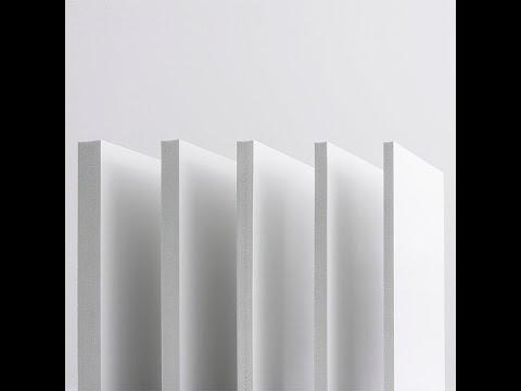 Hartschaumplatte Hart-PVC Integralschaumplatte - Vekaplan S - Beispiele