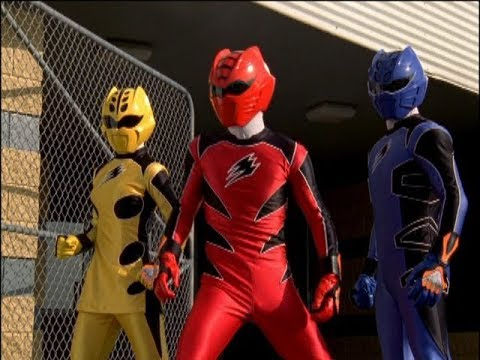 Power Rangers Jungle Fury - Sigh of the Tiger - Power Rangers vs Buffalord (Episode 3)