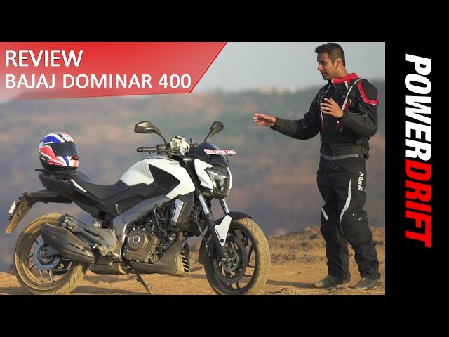 Bajaj Dominar 400 - The Good and The Bad : PowerDrift