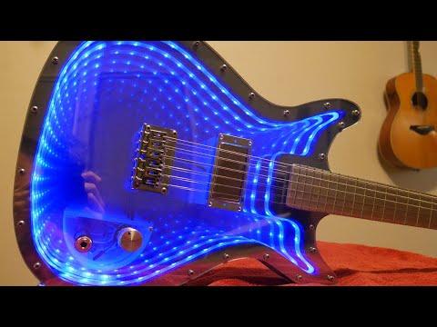 Infinity Mirror Guitar Shreds Forever