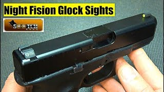 Night Fision Glock Sights Review