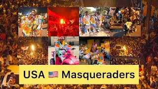 USA 🇺🇸 Masqueraders Club 25th December Outing...Part 1