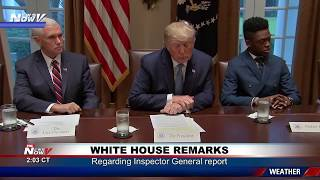 ATTEMPTED COUP: President Trump BLASTS Findings in IG FISA FBI Report