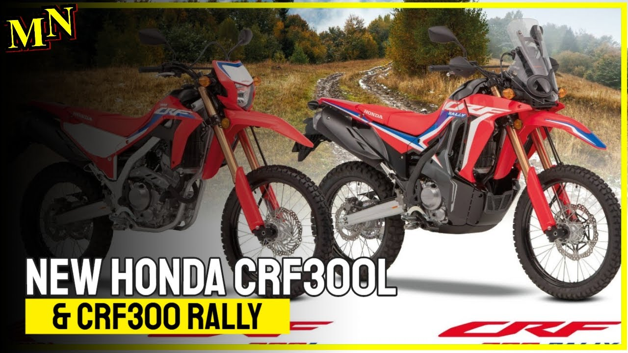 New Honda CRF300L and CRF300 Rally presented