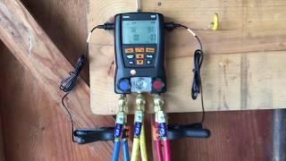 Testo 550 Manifold Gauges
