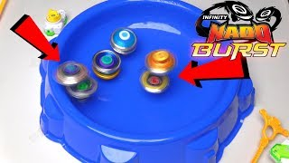 OMG INFINITY NADO CAN BURST! | Infinity Nado Split Edition (THE INSANE BEYBLADES)