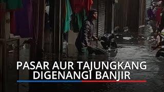 Viral Pasar Tajungkang Bukittinggi Digenangi Banjir, BPBD Air Surut, 1 Jam Setelah Hujan Berhenti
