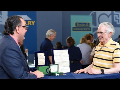 Guy brings his Rolex he bought in the military back in 1960 to an appraiser and learns how much it's really worth.