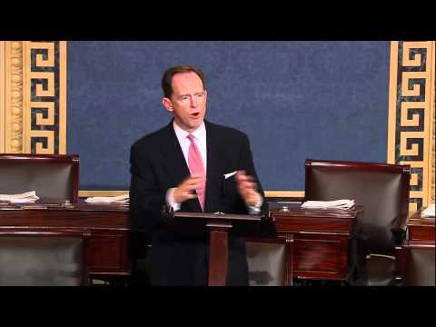 "Sen. Toomey on his ""Restoring Balance"" budget resolution"