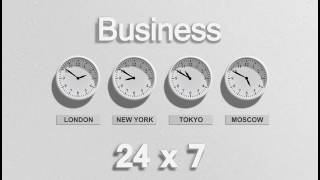 Business background   motion background   motion background   moving background   clock animation