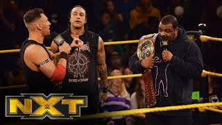 Keith Lee is confronted by Dominik Dijakovic and Damian Priest: WWE NXT, Jan. 29, 2020