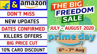 Flipkart & Amazon upcoming sale July & August 2020 | Amazon prime day sale | laptop bonanza sale - Download this Video in MP3, M4A, WEBM, MP4, 3GP