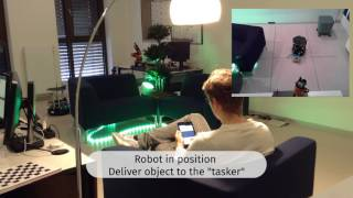 Seerose – Servicerobots in a Smart Home – Ambient Assisted Robot Object Search