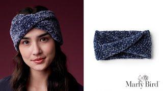 Twisted Knit Headband For Beginner Knitters || Marly Bird