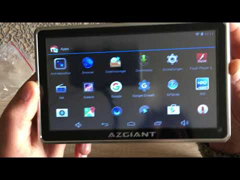 "Navi LKW , PKW Test AZGIANT 7"" Zoll Multifunktional LKW Navigation ,Tablet Android  16 GB"