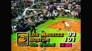 1984 NBA Finals - Los Angeles vs Boston - Game 7 Best Plays