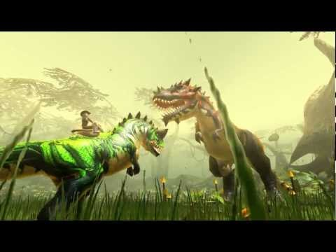 Here's A Dinosaur-Riding MMO You Can Play In Your Browser Right Now