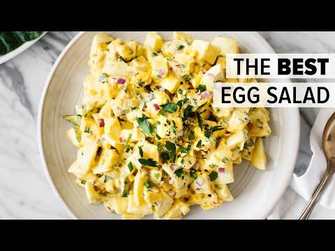 EGG SALAD | how to make the BEST egg salad recipe + collard wrap