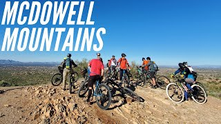 McDowell Mountain | Epic climb, crowded descent on Lost Dog Wash, Old Jeep, and Sunrise | 12/29/2019