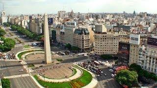 Scenery Video Ecards, Buenos Aires Argentina Turismo por a la ciudad..