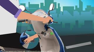 Do you know - Advantage of having an Electric Start in BS6 TVS 2 Wheelers