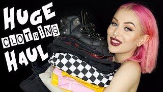 Badass Clothing Haul With Try Ons - ASOS, NAKD, LoveTooTrue, NewRock Vegan Shoes