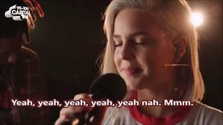 Anne Marie   Ciao Adios Lyrics Traducida Acoustic (Capital Session)