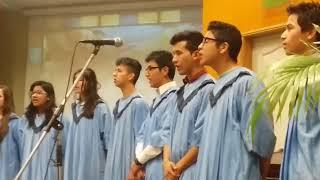 Los coros  nuestra institución se presentaron en la iglesia adventista de Morón el día sábado 16/09.  (ver imágenes en sección fotos)