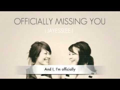 Jayesslee Officially Missing You Lyrics Download Msnikkivang