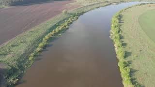 Аэросъемка 4K. Липецкая область. Река Дон. Часть вторая
