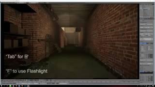 I made something that should not exist. Part 1 (Blender Game Engine UPBGE)