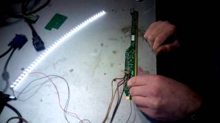lcd panel led dönüşüm