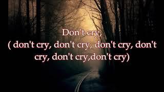 Lucky Dube   Don't Cry Lyrics