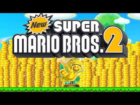 New Super Mario Bros 2 HD - Full Game Walkthrough (100%)