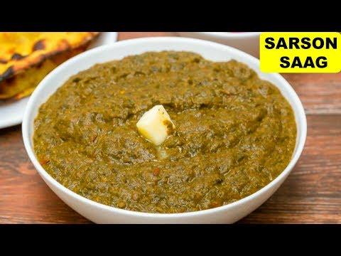 Sarson Ka Saag Recipe in Hindi | CookWithNisha