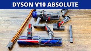 Dyson Cyclone V10 Absolute Akku Staubsauger - Test & Unboxing