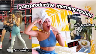 MY 5AM MORNING ROUTINE
