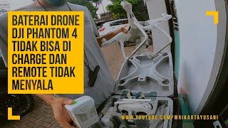 Penyebab dan Solusi Baterai Drone DJI Tidak Bisa Di Charge dan Remote Tidak Menyala