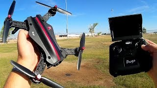 MJX Bugs 8 Full Size Brushless Entry Level FPV Racing Drone Flight Test Review