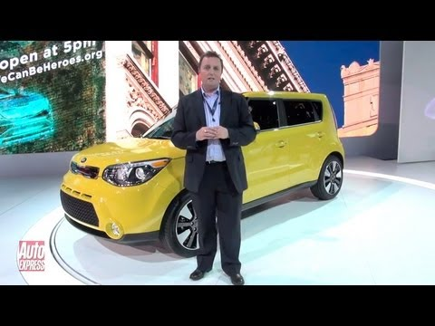 New Kia Soul at the 2013 New York Motor Show - Auto Express