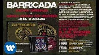 BARRICADA - POR SALIR CORRIENDO (CON LUCAS IRISARRI). Directo Ansoain 2012